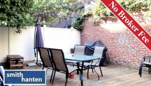 NO FEE! - 1800 SF Duplex with Private Garden on Hoyt St. in Boerum Hill