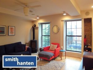 Parlor Floor 1br + office with private covered terrace in Boerum Hill