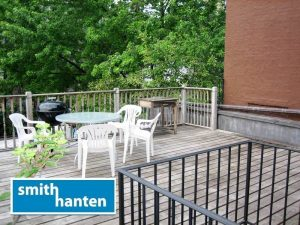 Large Private Deck on Pacific St in Boerum Hill