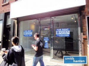 1,250 sqft nr Subways on Smith Street in BoCoCa