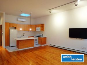2-bedroom plus private deck for rent on Atlantic Avenue in Boerum Hill