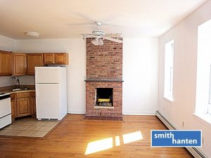 Boerum Hill 1br + den with W/D & private deck