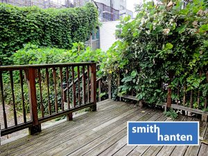 Boerum Hill 1 BR with Private Deck and Shared Garden For Rent on Wyckoff St.