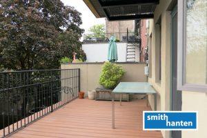 Boerum Hill 1br+den with prvt deck & washer/dryer
